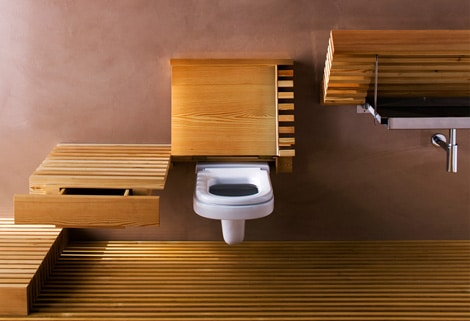Eco-Friendly Bamboo Bathroom