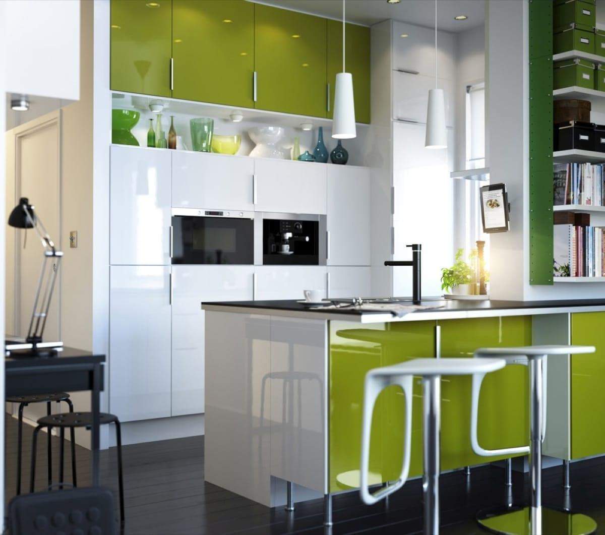 Grass Green Kitchen