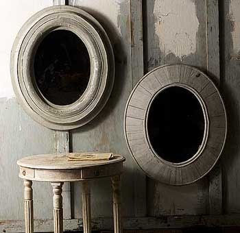 Contemporary Mirrors Based on Antique Designs by Namziyal