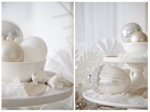 Winter Wonderland Table Setting Accents