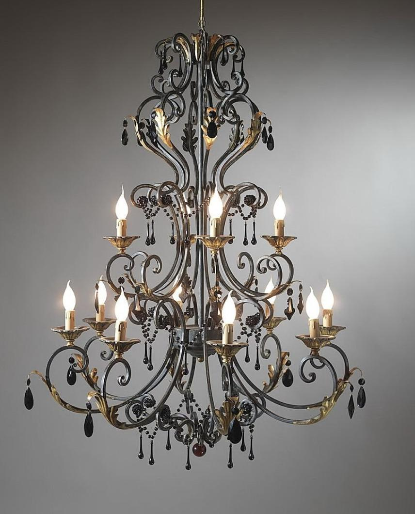 Iron vintage chandeliers in Home Lighting - Compare Prices, Read