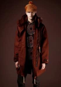 Burberry Prorsum Tribal Prints Fall Fashion 2011 by Nazmiyal