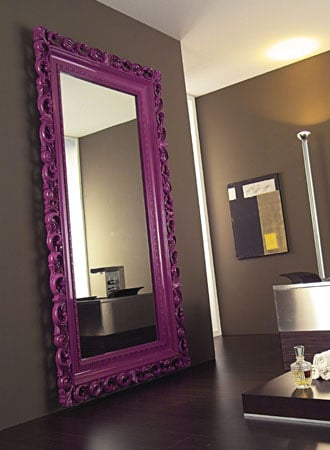 Contemporary Baroque Mirror by Nazmiyal