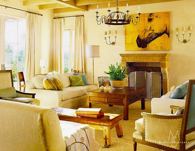 Interior Design by Madeline Stuart and Associates Nazmiyal