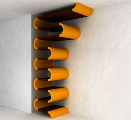 Modern Storage Shelving Unit by Nazmiyal