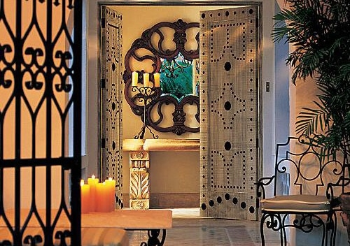 Wrought Iron Interior