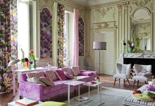 Lilac Living Room Color Trends