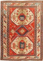 Antique Caucasian Rug by Nazmiyal