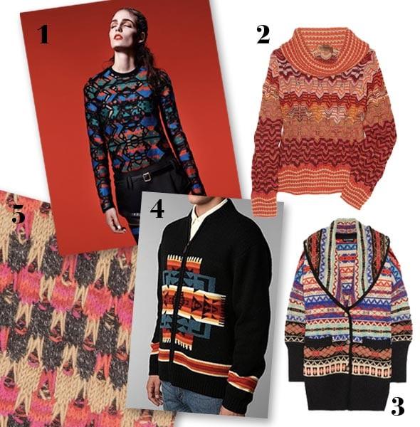 Tribal Prints Fashion Trends Fall 2011 by Nazmiyal