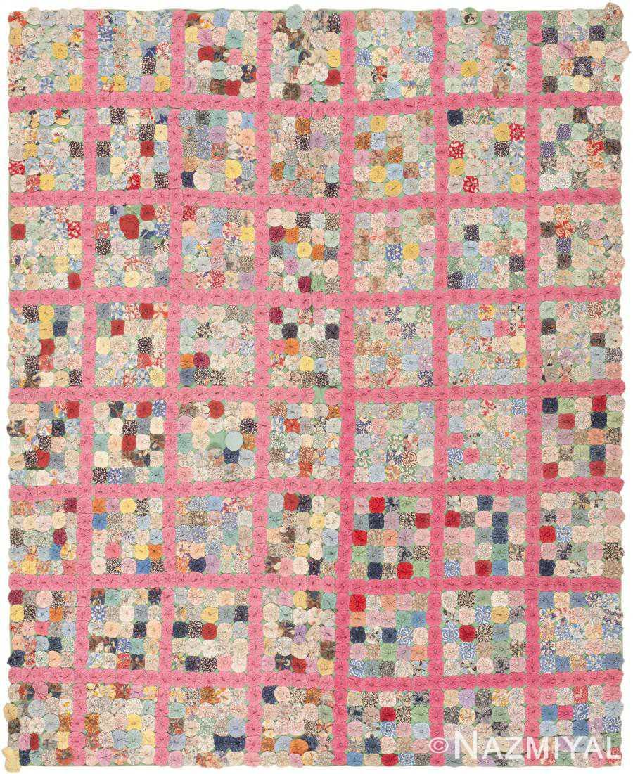 Antique American Quilt 2487 Detail/Large View