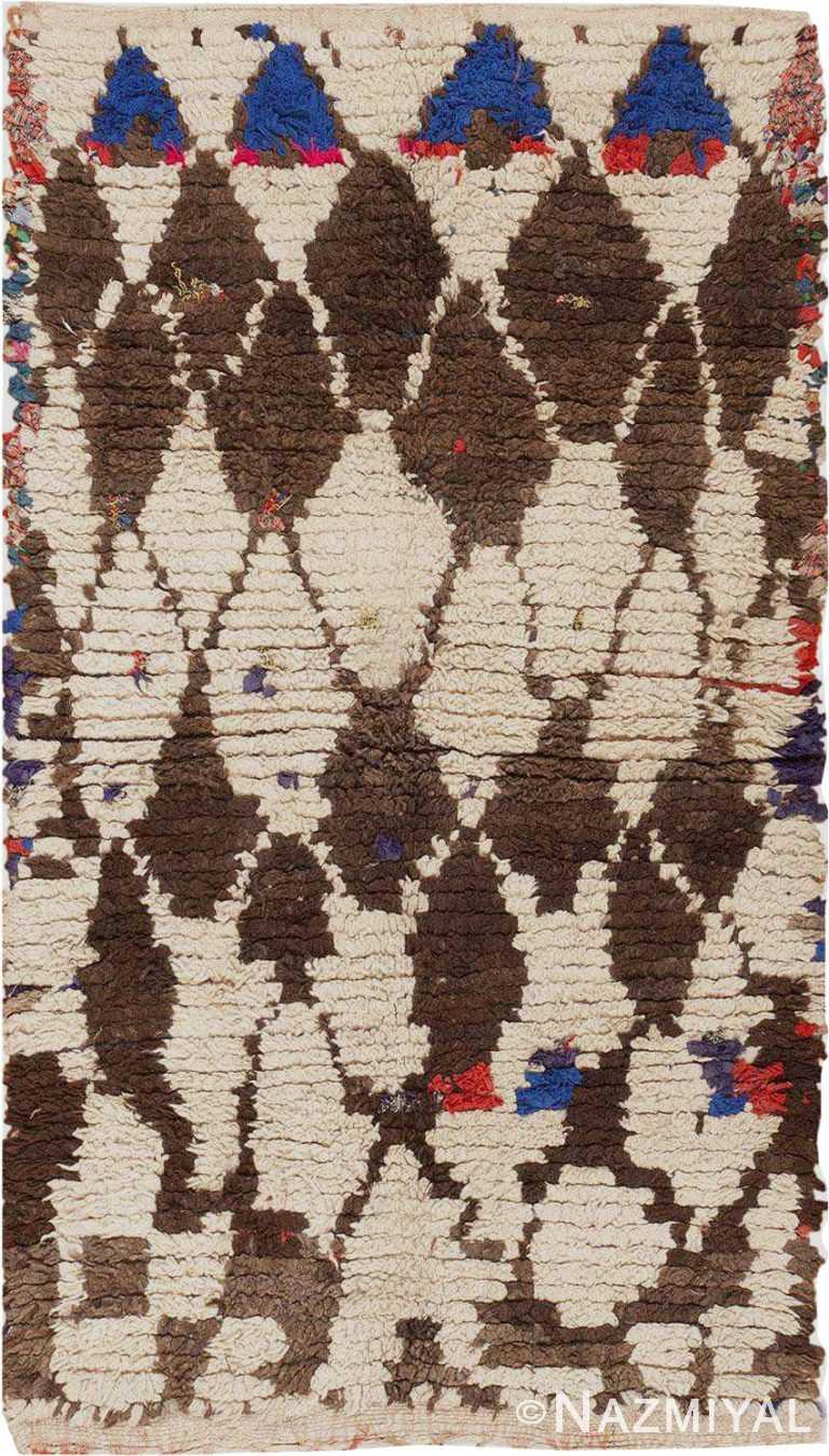 Vintage Moroccan Berber Rug #45822 by Nazmiyal Antique Rugs