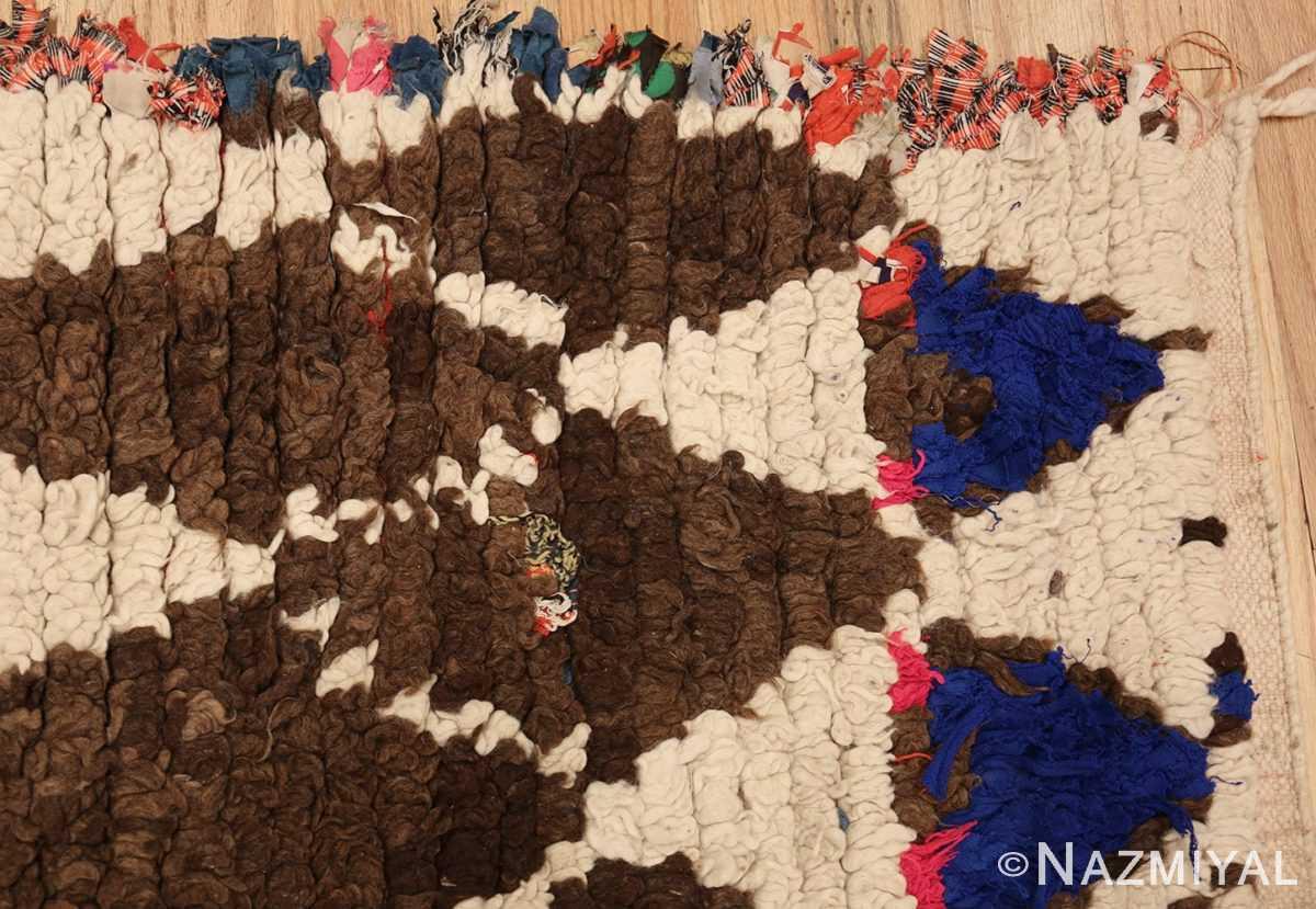 vintage moroccan rug 45822 corner Nazmiyal