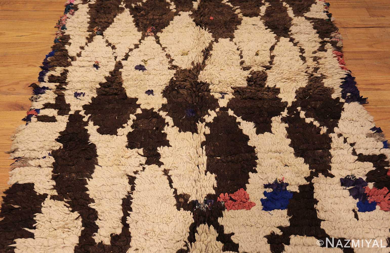 vintage moroccan rug 45822 field Nazmiyal