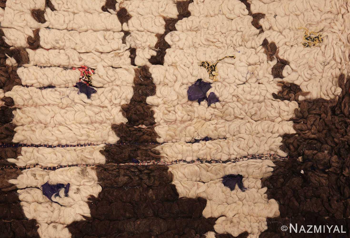vintage moroccan rug 45822 texture Nazmiyal