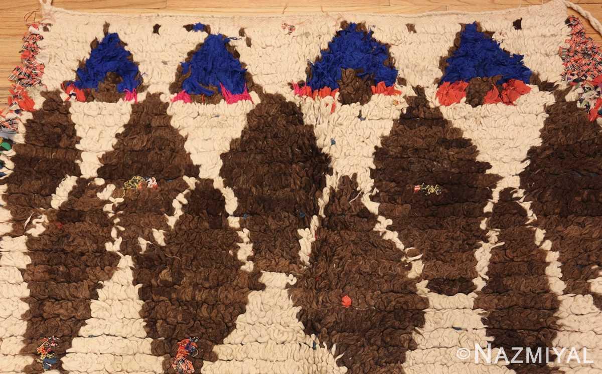 vintage moroccan rug 45822 top Nazmiyal
