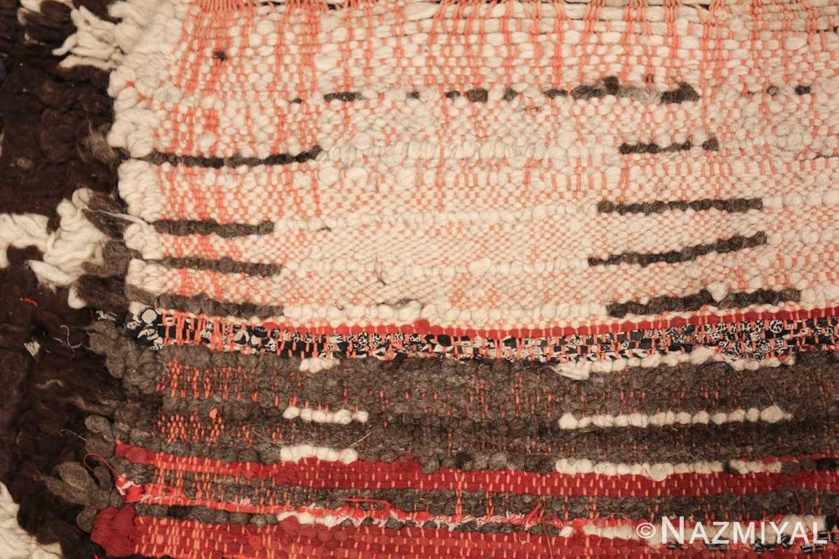vintage moroccan rug 45822 weave Nazmiyal