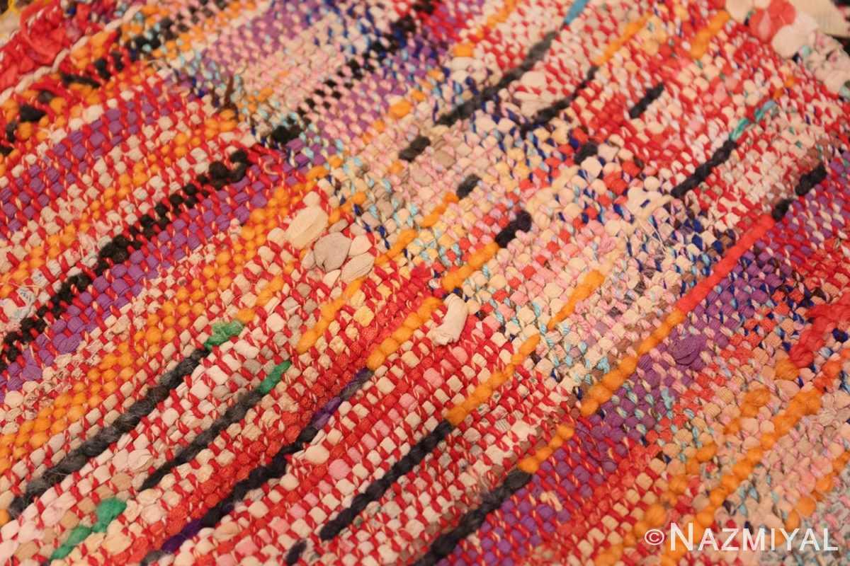 Weave detail Vintage Moroccan rug 45823 by Nazmiyal