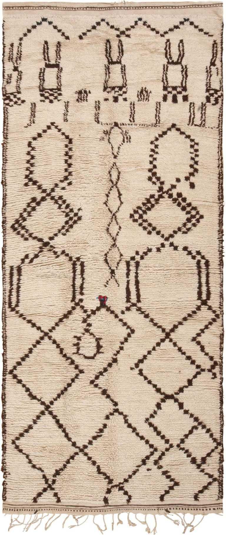 Vintage Moroccan Rug 46039 Detail/Large View