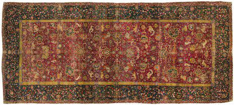 Emperor's 16th century Carpet by Nazmiyal