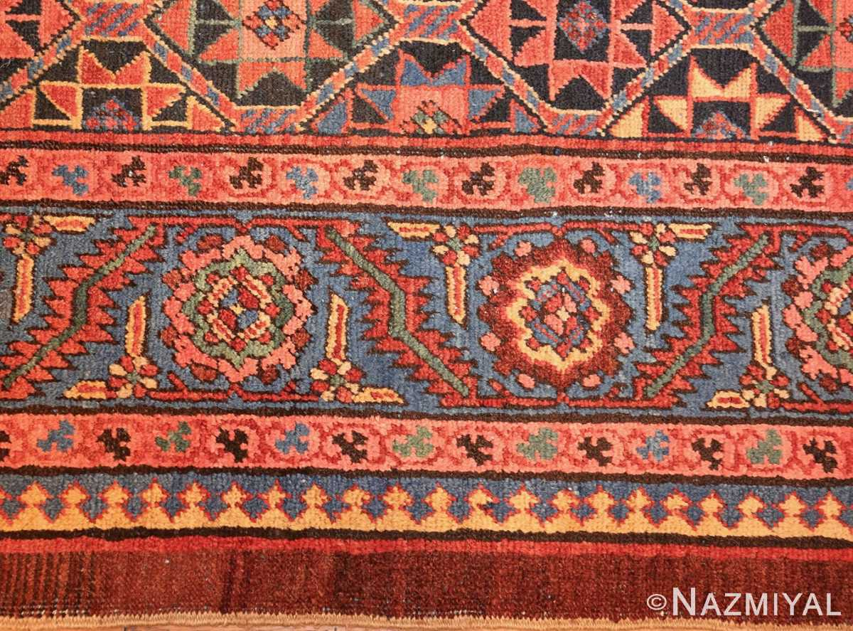 antique persian bakshaish gallery rug 45892 border Nazmiyal
