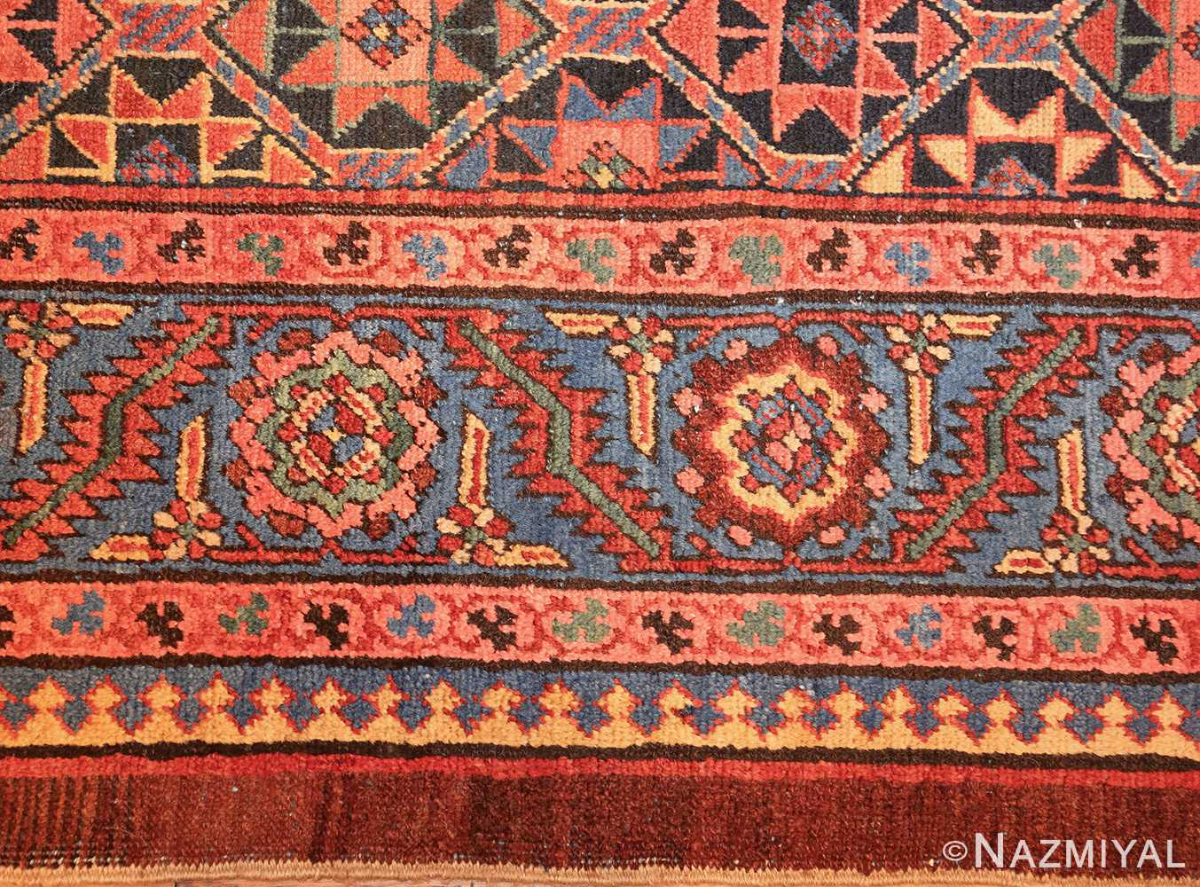 antique persian bakshaish gallery rug 45892 border Nazmiyal