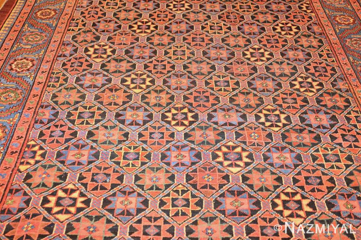 antique persian bakshaish gallery rug 45892 field Nazmiyal