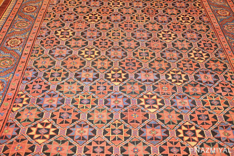 antique persian bakshaish gallery rug 45892 field Nazmiyal