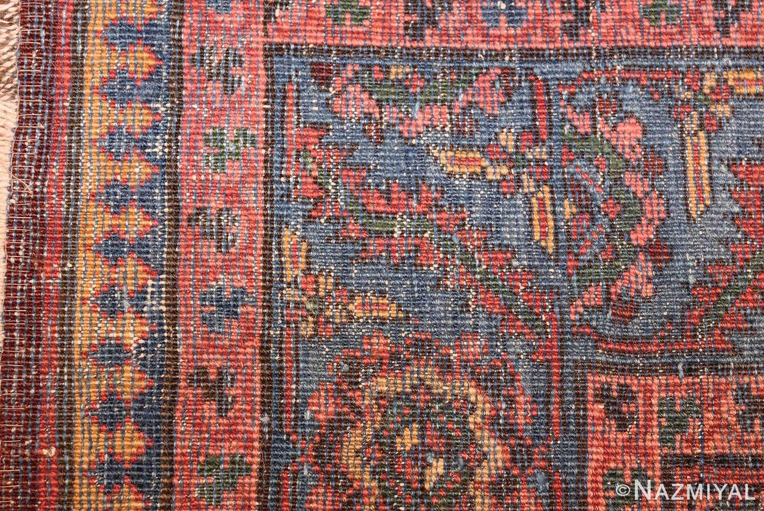 antique persian bakshaish gallery rug 45892 weave Nazmiyal
