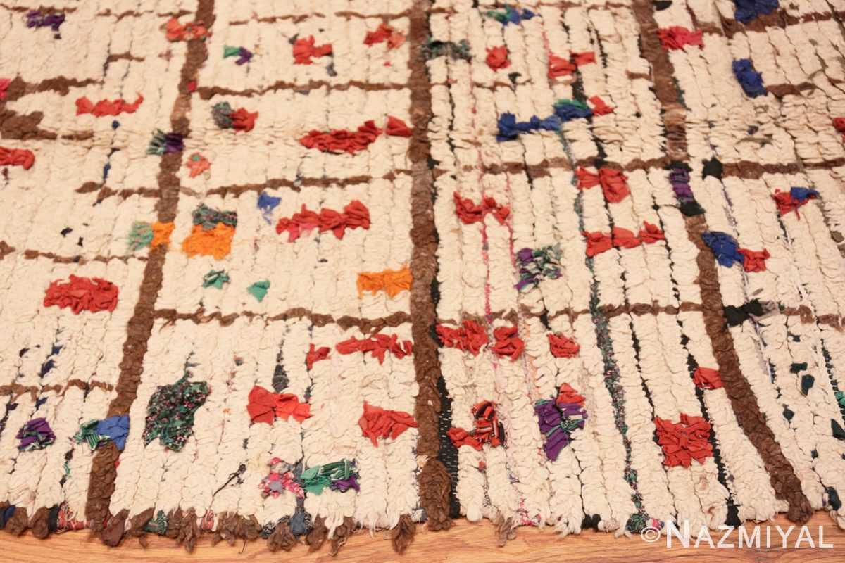 Border Vintage Moroccan rug 46051 by Nazmiyal