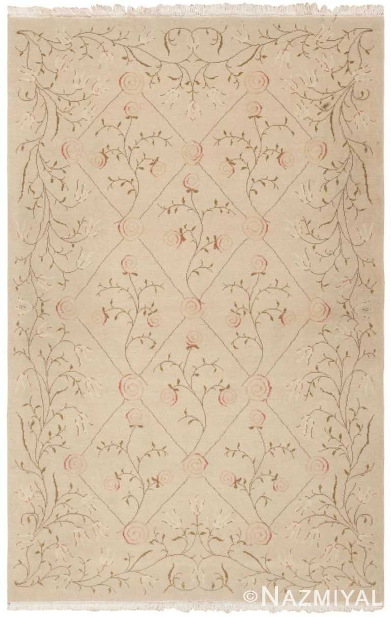 Modern Romanian Spanish Design Rug 44675 Nazmiyal