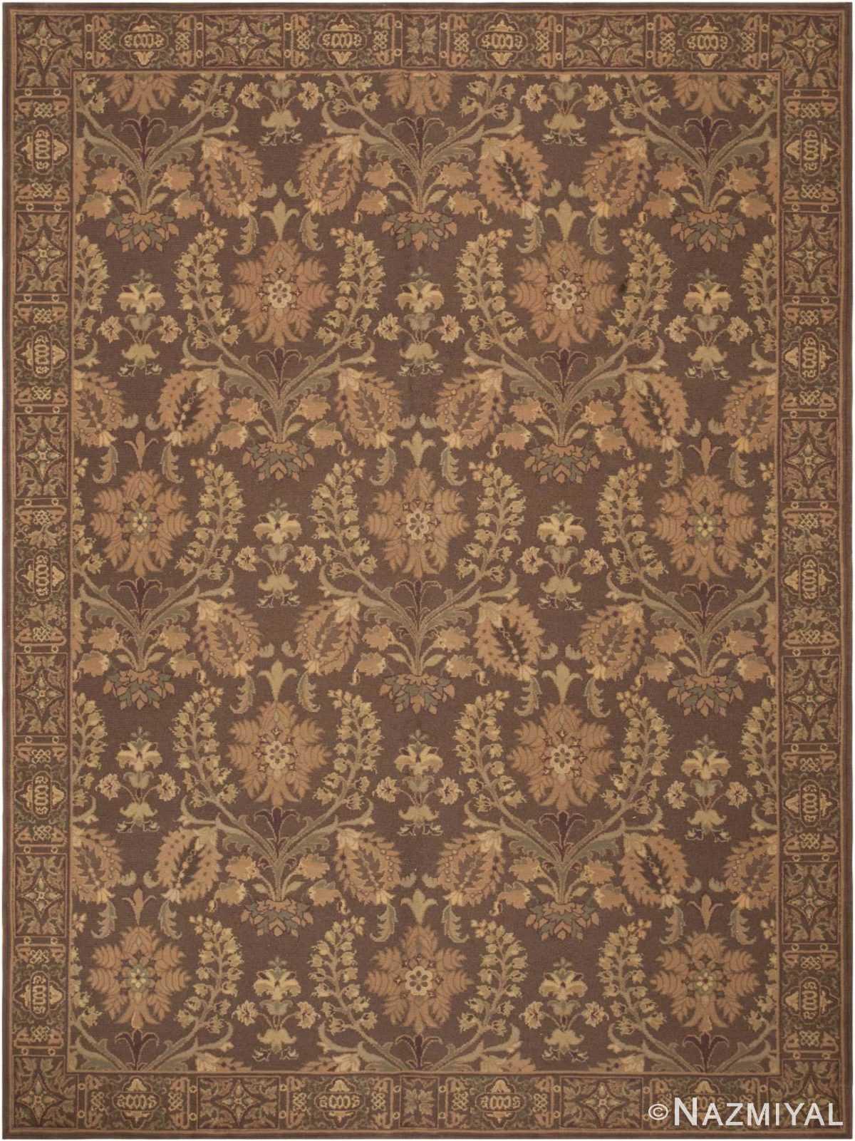 Modern Chinese Savonnerie Carpet 44697 Nazmiyal