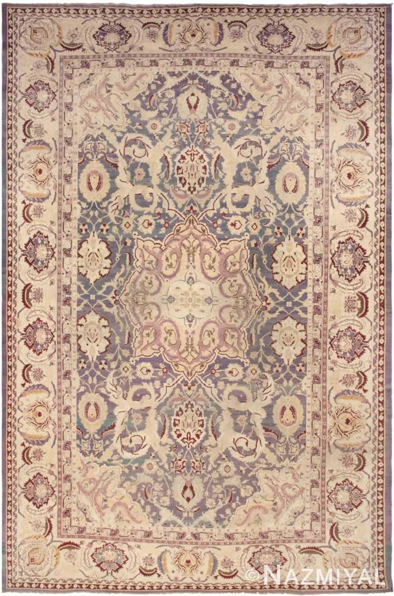Antique Agra Rug 45976 Detail/Large View