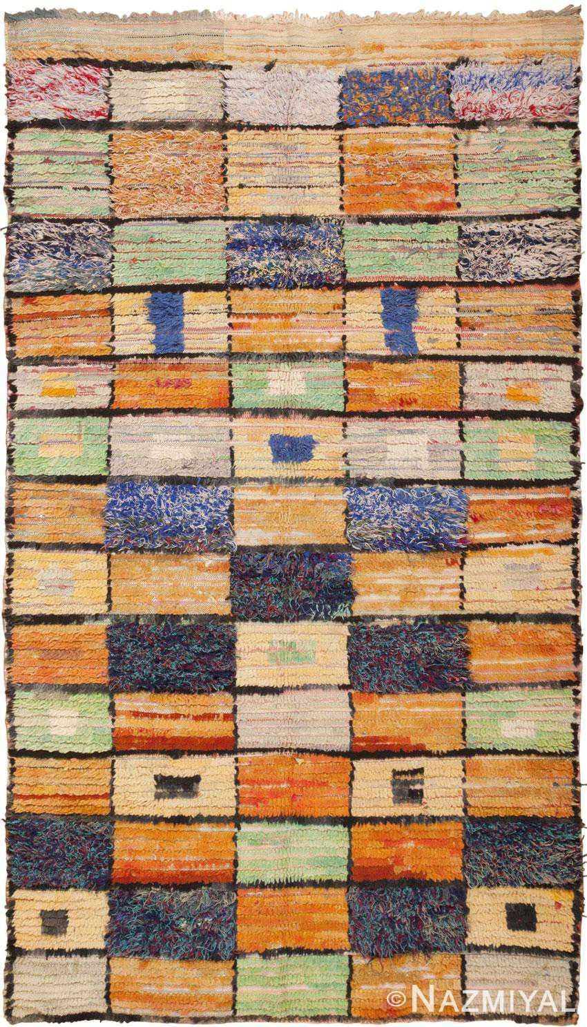 Vintage Moroccan Rug 45980 Detail/Large View