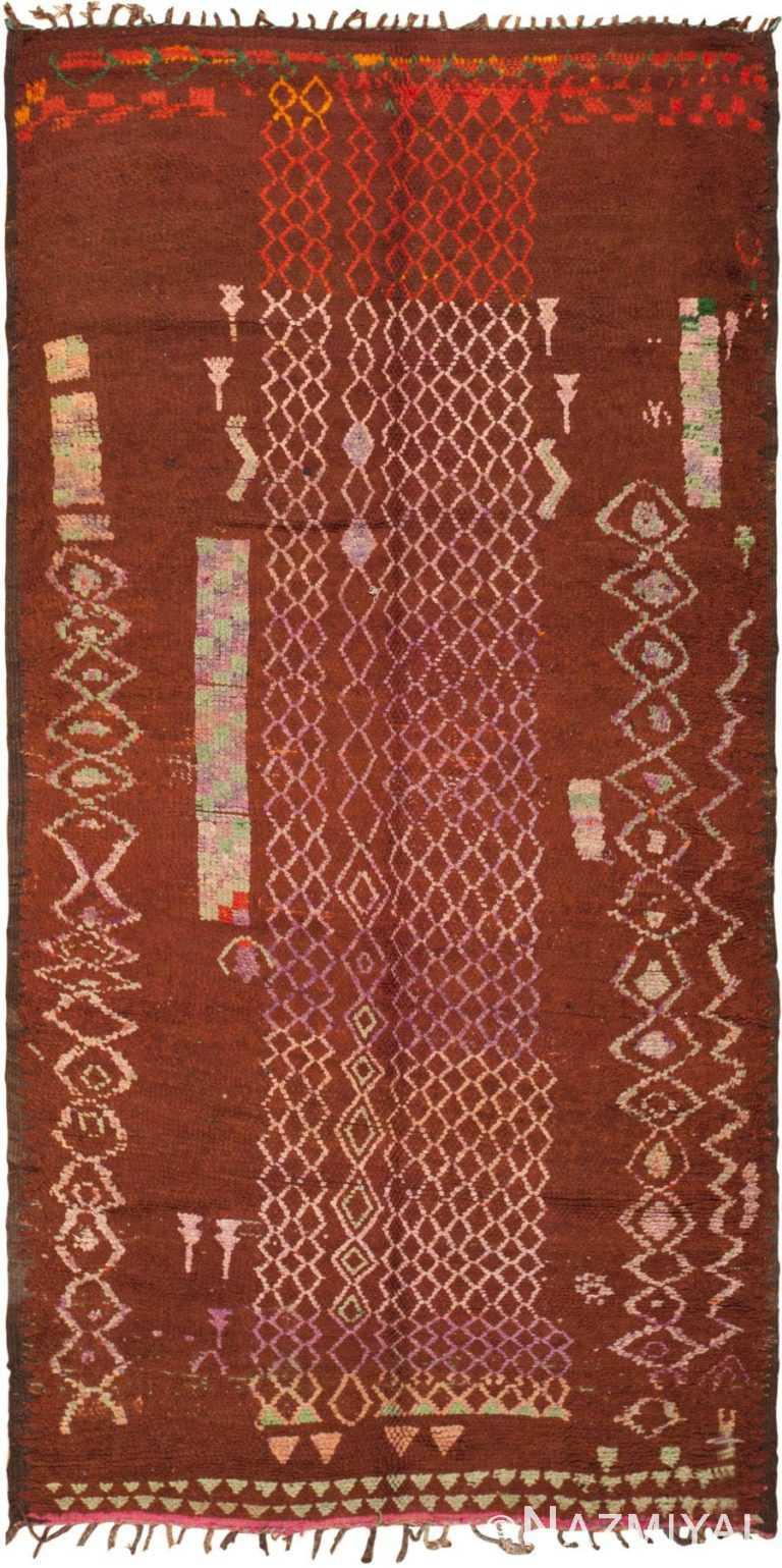 Vintage Moroccan Boujad Rug 45982 by Nazmiyal
