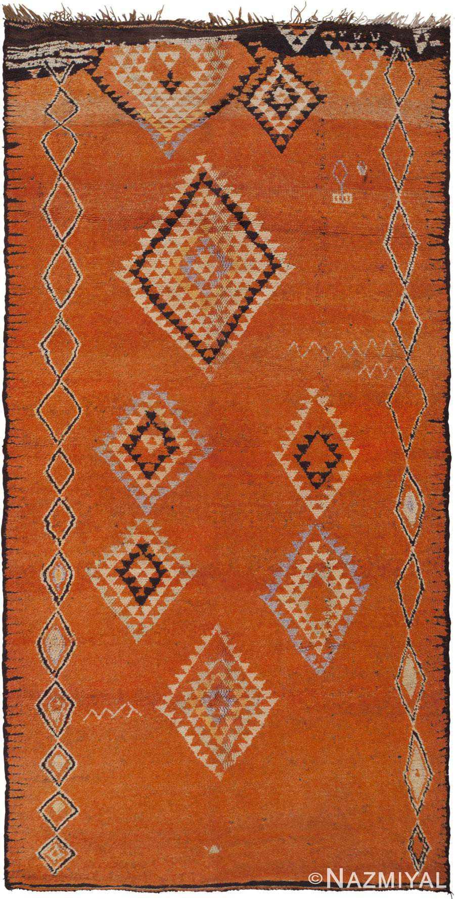 Vintage Moroccan Rug 45987 Nazmiyal Antique Rugs