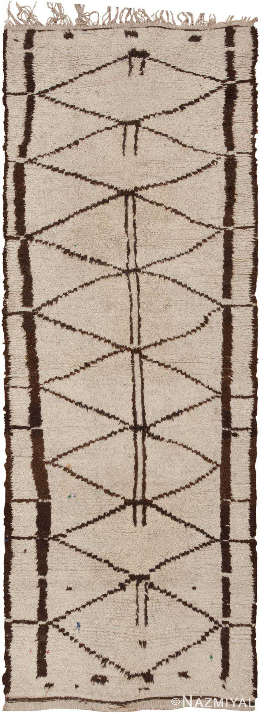 Vintage Moroccan Rug 46009 Detail/Large View