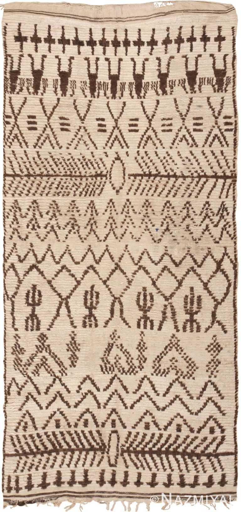 Vintage Moroccan Rug 46042 Detail/Large View