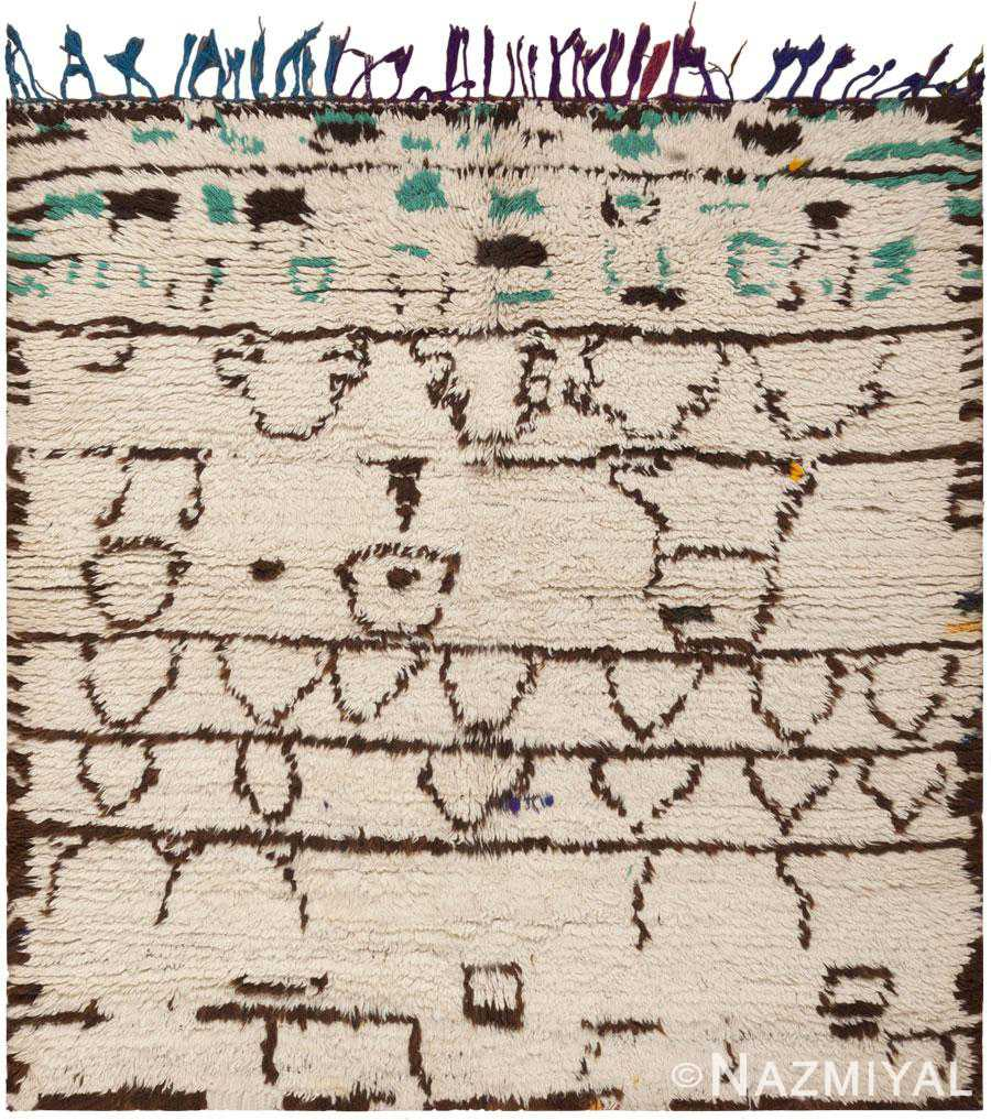 Vintage Moroccan Rug 46045 Detail/Large View