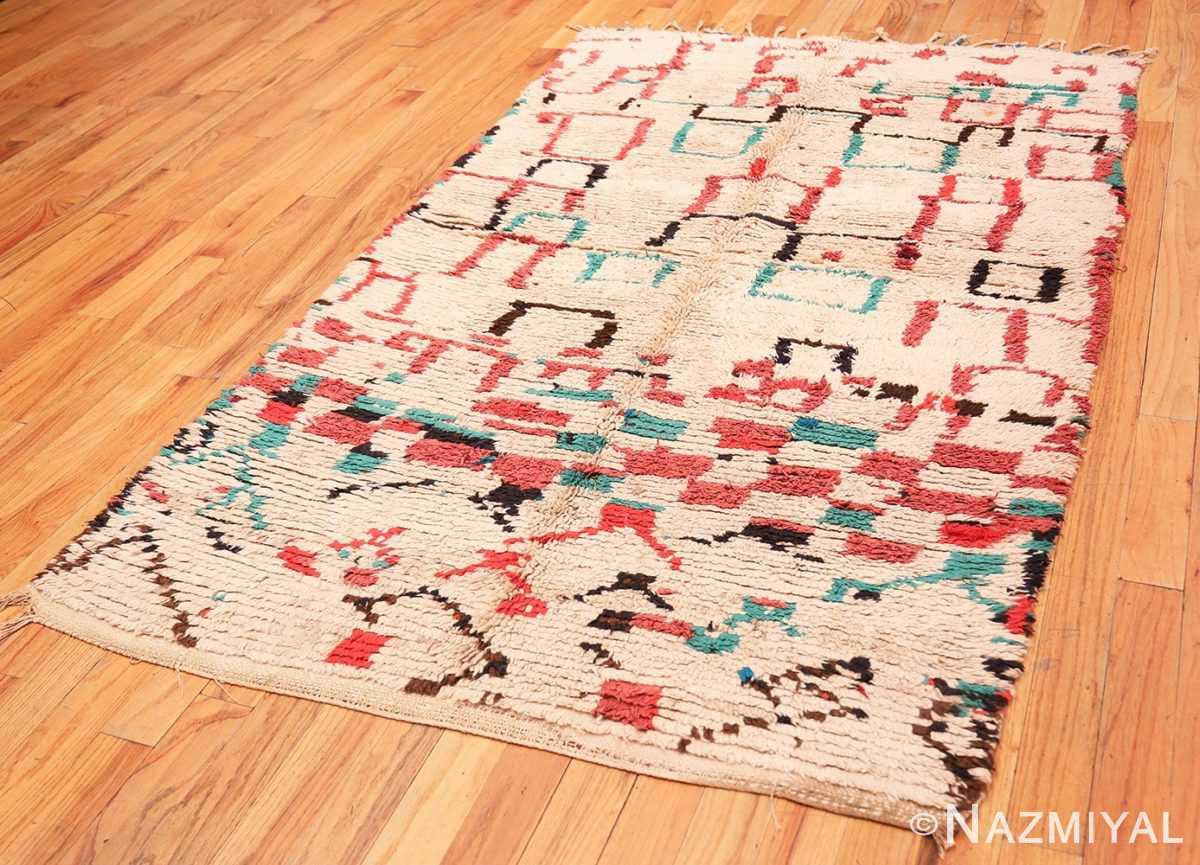 Full Vintage Moroccan rug 46012 by Nazmiyal