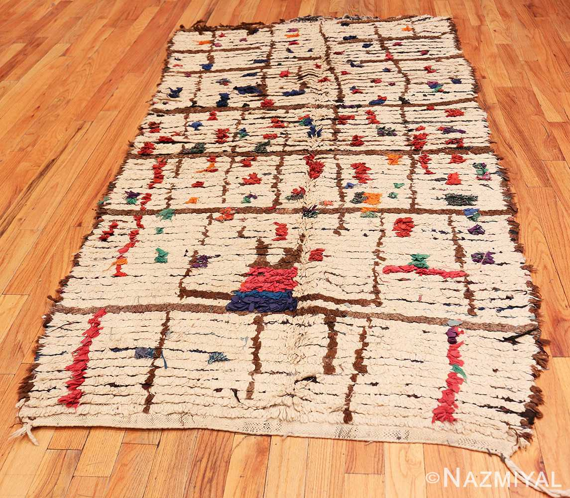 Full Vintage Moroccan rug 46051 by Nazmiyal