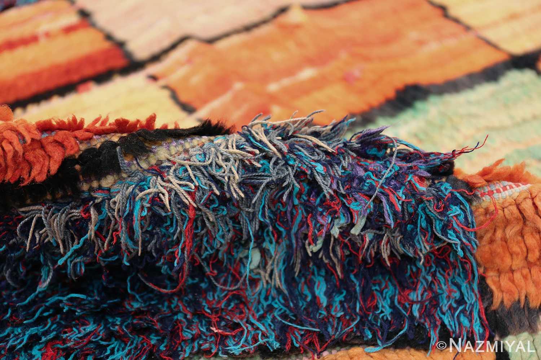 Vintage Moroccan Rug 45980 Colorful Pile Nazmiyal