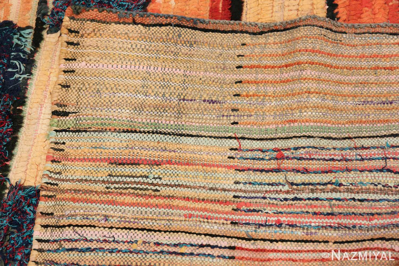 Vintage Moroccan Rug 45980 Woven Knots Nazmiyal