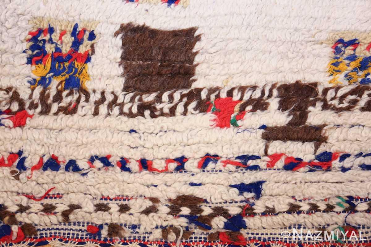 vintage moroccan rug 46008 blue Nazmiyal