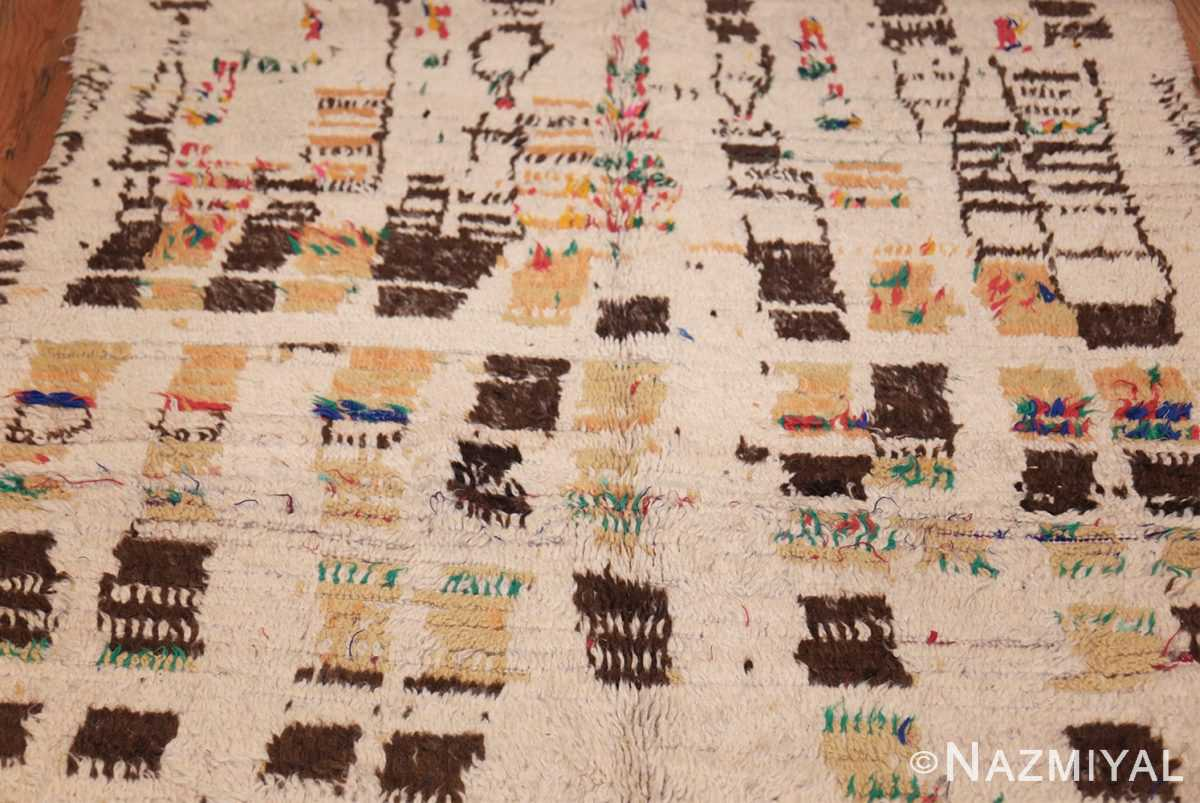 vintage moroccan rug 46008 field Nazmiyal