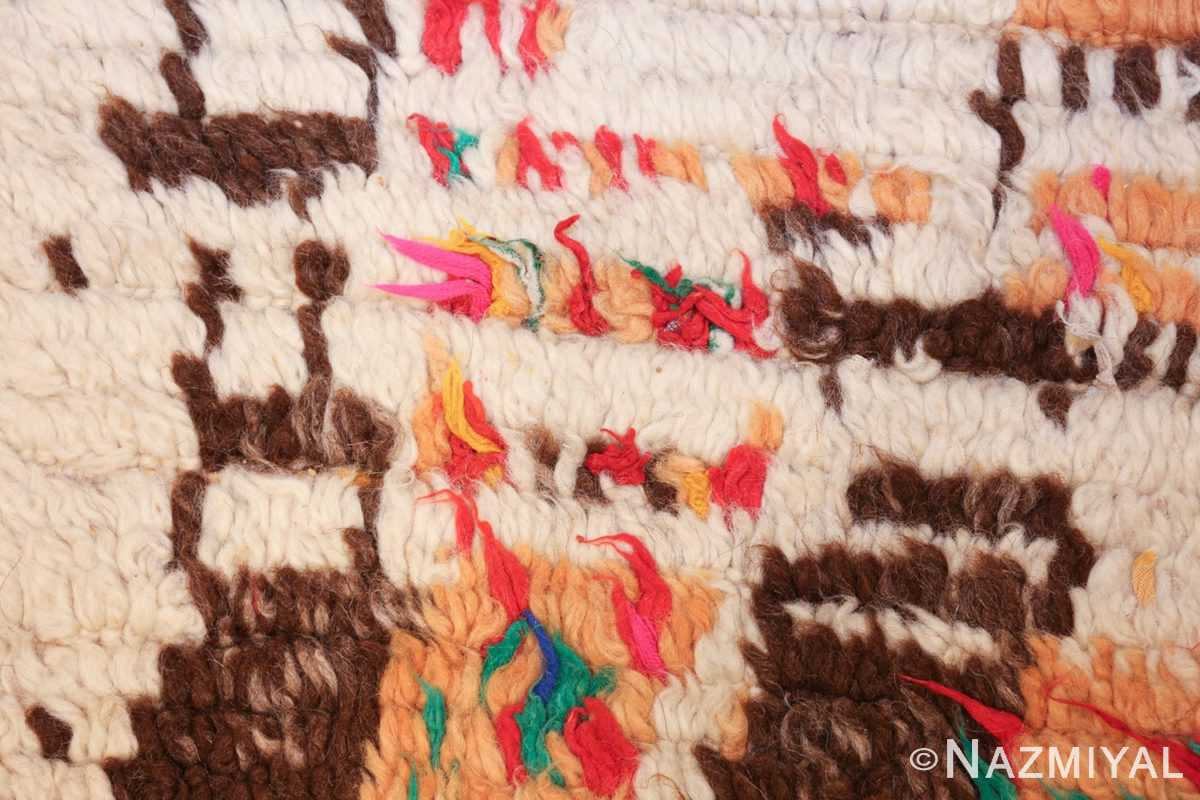 vintage moroccan rug 46008 pink Nazmiyal