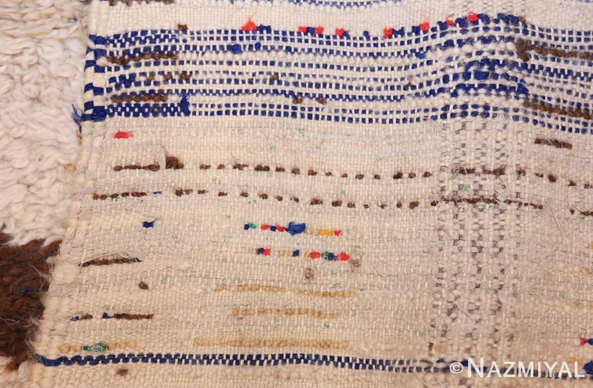 vintage moroccan rug 46008 weave Nazmiyal