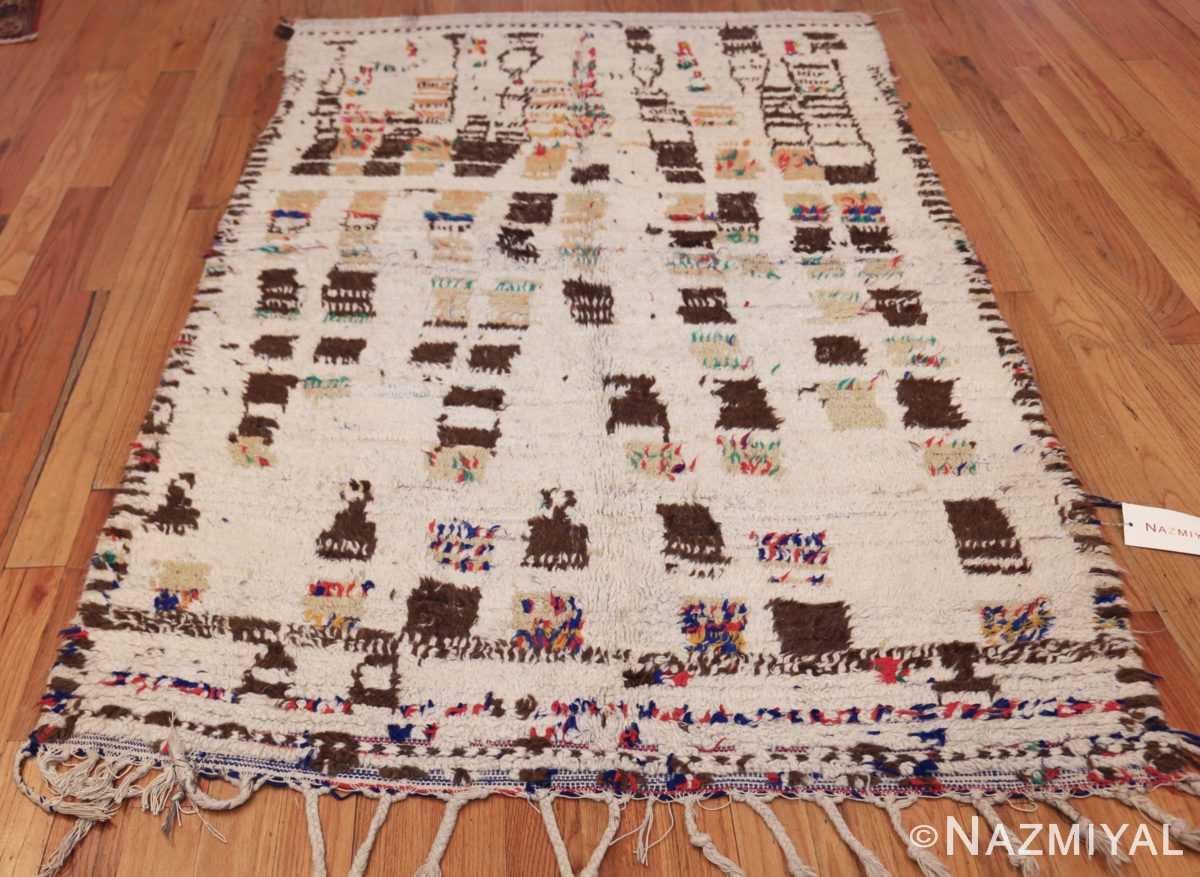 vintage moroccan rug 46008 whole Nazmiyal
