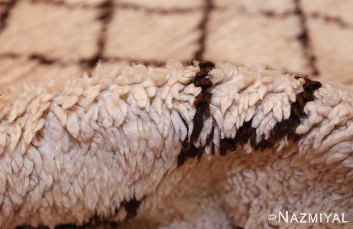vintage moroccan rug 46011 pile Nazmiyal