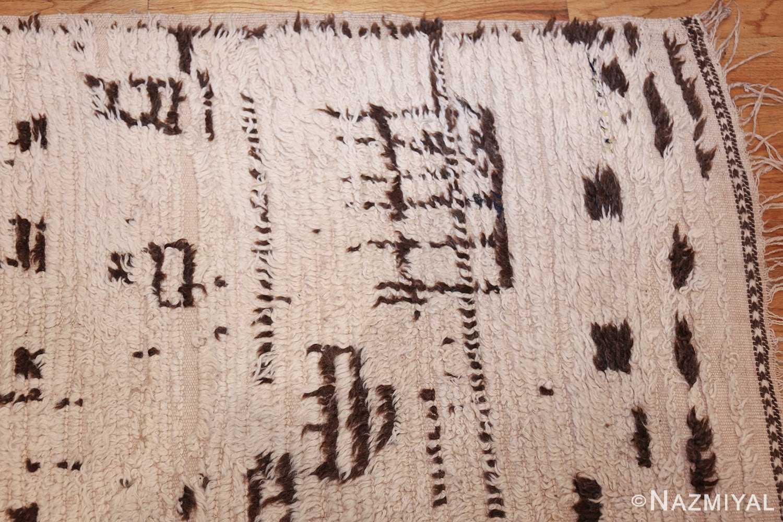 vintage moroccan rug 46029 corner Nazmiyal