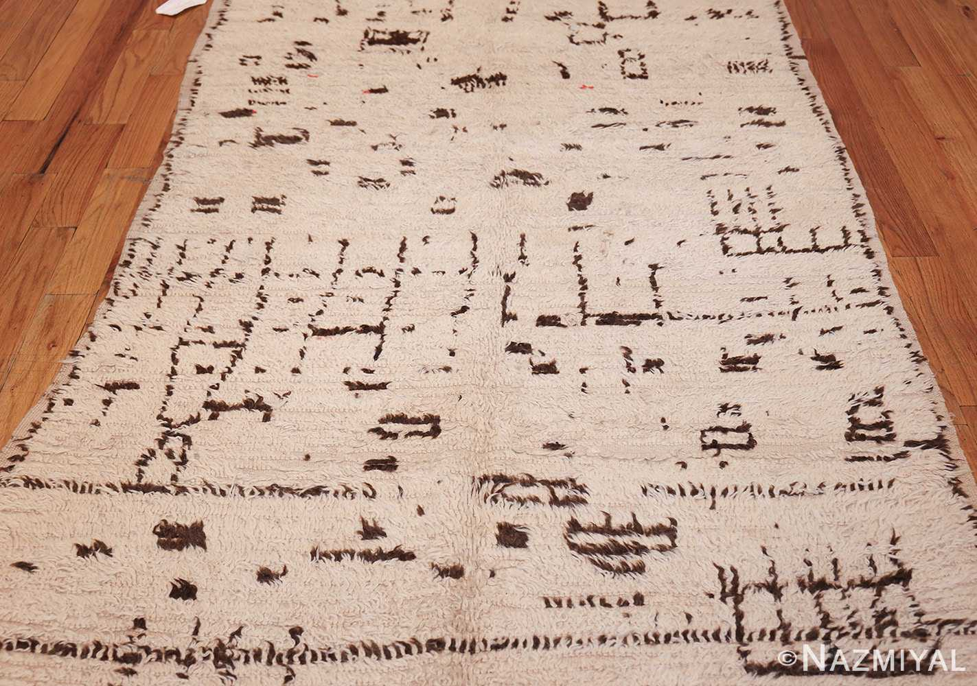 vintage moroccan rug 46029 field Nazmiyal